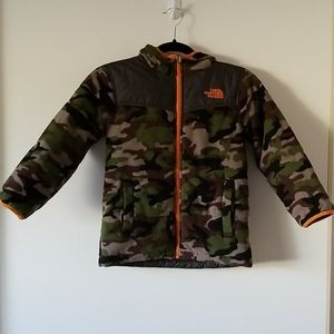 The North Face Boy's Reversible Camo Print Jacket